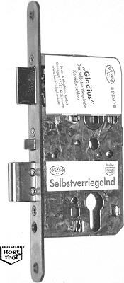 Dornma/ß 55 Selbstverriegelndes Korridort/ürschloss PZ//W Gladius