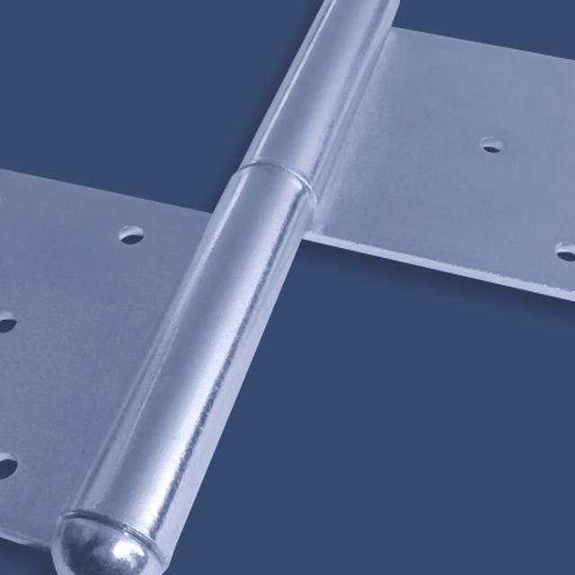 Anschweißscharnier 2-teilig Anschweißband Edelstahl Türband Türscharnier Fenster